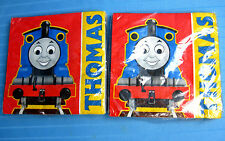 Thomas the Train Beverage Cocktail Party Napkins 16 Count 2PLY Hallmark Lot 2