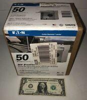 50-Amp Single-Outlet Receptacle 120/240-Volt Unmetered RV Motor-Home Box 14-50R