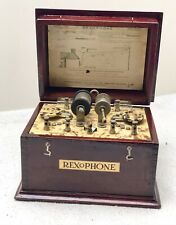Morch Bros. Rexophone Cat Whisker 1920s Crystal Set Radio, Exceptional Condition