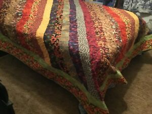 Autumn Leaves King Size Quilt