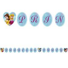 DISNEY PRINCESS 'Princess Party' HAPPY BIRTHDAY BANNER ~ Supplies Decorations