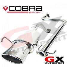 MG17 Cobra Sport MG ZR 1.4 & 1.8 105 120 160 Cat Back Exhaust - Non Resonated