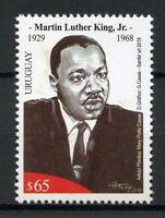 Uruguay 2018 MNH Martin Luther King Jr 1v Set Historical Figures People Stamps