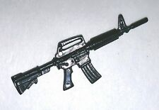 """M-4 XM177 Assault Rifles (3-THREE)- 1:18 Scale Weapons for 3-3/4"""" Action Figures"""