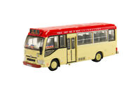 Tiny City 183 Hong Kong Toyota Coaster District Minibus Red 19 Seated Diecast