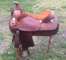 "American Made Western Trail Saddle 17""  Full Bar"