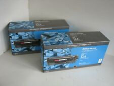 HP 12A Toner Cartridges  PAIR Office Depot Remanufactured