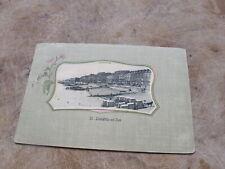 Earl Sussex postcard - St Leonards 0n Sea beach scene - Hastings