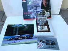 MARIO ANDRETTI, HAND SIGNED, TEAM LOTUS FORD DFV #269, RACE USED ENGINE PISTON
