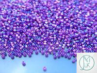 250g 928 Inside Color Rainbow Rosaline/Purple Lined Toho Seed Beads 11/0 2.2mm W