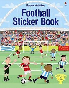Football Sticker Book Usborne Activities Sticker Books
