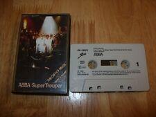 ABBA - SUPER TROUPER - AUDIO CASSETTE TAPE - Epic 1980
