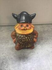 More details for vintage rolf berg viking figure torshalla sweden ceramic