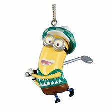 Kurt Adler Despicable Me Minion Dressed as a Golfer Christmas Ornament