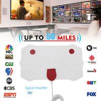 VHF UHF 1080p Amplificador de señal 50millas gama La TV digital Antena de TV