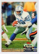 BARRY SANDERS 1992 Stadium Club MEMBERS CHOICE #301 Detroit Lions (Mint)