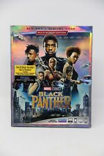 Black Panther w/Slipcover (Blu-ray, Digital Hd) New(Other)