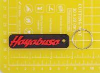 Suzuki Hayabusa plastic keyring Keychain Porte Cles keyholder motorcycle