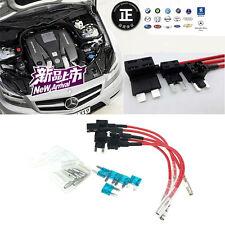 5pcs 15A Add Circuit Car Mini Blade Fuse Boxe Holder ACS ATO ATC Piggy Back Tap