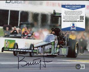 Brittany Force NHRA Signed 8x10 Photo AUTO Autograph Beckett BAS COA