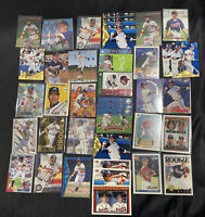 CHIPPER JONES Atlanta Braves Lot Collection of 40 Cards W/ Many Rookies 🔥⚾️
