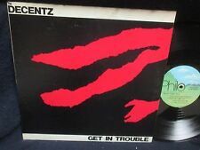 "The Decentz ""Get in Trouble"" LP"