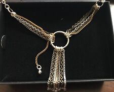 AVON FRINGE BENEFITS Y  CHAIN NECKLACE