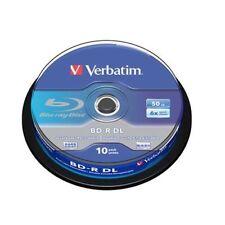 Ultimo Pezzo Verbatim Bd-r DL 50gb 6x 10er Spindel
