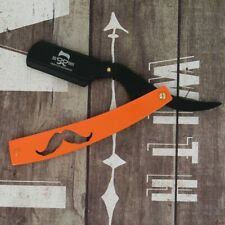 Straight Cut Throat Razor with Disposable Blades | 5 Free Blades