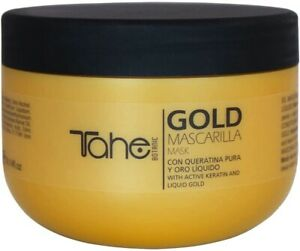 Tahe Botanic Gold Mask With Active Keratin And Liquid Gold 300ml
