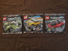 Lego Racers Tiny Turbos Set of 3 - 4948 7452 7453 Brickmaster Exclusives