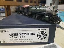 Ho Brass PFM Great Northern GN O-1 class 2-8-2 DCC & Tsunami Sound.