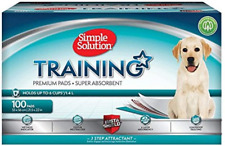 Simple Solution Premium Dog and Puppy Training Pads, Pack of 100