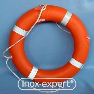 Rettungsring SOLAS Zertifizierung 73 cm 2,5 kg Rettung Ring orange mit Streifen