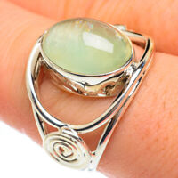 Prehnite 925 Sterling Silver Ring Size 8.75 Ana Co Jewelry R61748F