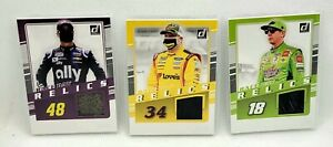 2021 Donruss NASCAR Racing Race Day Relics Pick Any Card Complete Your Set