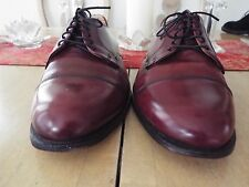 VTG 11 D Cole Haan Cordovan Leather Cap Toe Oxfords Made in the U.S.A.