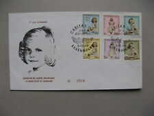 LUXEMBOURG, cover FDC 1960, Caritas Princesse Marie-Astrid, royalty (2)