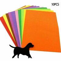 10 Blätter 16K Schwamm Papier EVA-Schaum Papier Kinder D9I7 Han DIY handgem N5W0