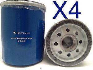 4x Oil Filter Suits UNION JAP C-123 // Z432