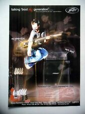 Publicite-Advertising: guitar/amp peavey generation exp 12/2005
