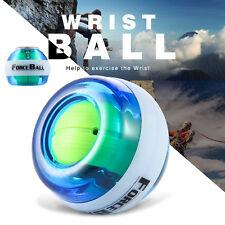Gyro LED Wrist Arm Exercise Power Ball Golf Tennis Gyroscope Forceball Strength