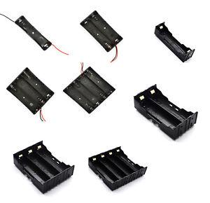 3.7V Rechargable Battery Holder 1X 2X 3X 4X Li-ion Battery Case Storage Box DIY