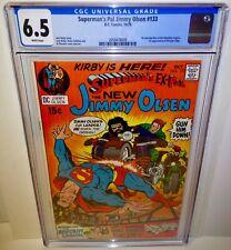 Superman's Pal Jimmy Olsen Ex-Pal 133 1970 CGC 6.5 DC Jack Kirby Newsboy Legion