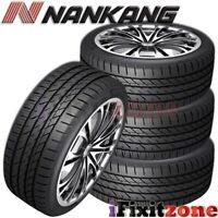 4 Nankang NS-25 All-Season UHP 235/40R18 95H XL A/S Tires 50,000 Mile Warranty