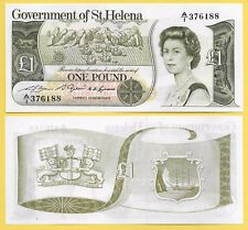 St Helena 1 Pound p-9a 1981 UNC Banknote