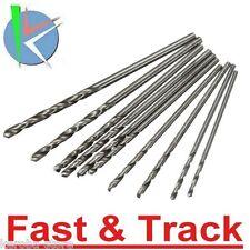 10pcs Mini punte trapano 0.8-1.5mm Twist Drill Bit For PCB Board Wood Plastic