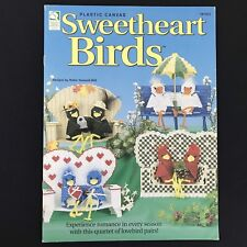 Plastic Canvas Sweetheart Birds House Of White Birches 181053 Lovebirds Heart