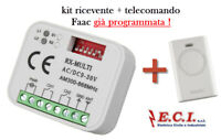 55.CHR413 RADIOCOMANDO CANCELLO ACCENDISIGARI X TELCOMA LIFTMASTER Marantec
