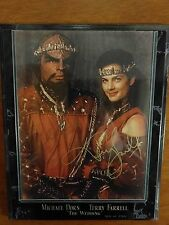 Star Trek Worf Dax Wedding Plaque Signed Autographed Auto RARE MINT DS9 TNG
